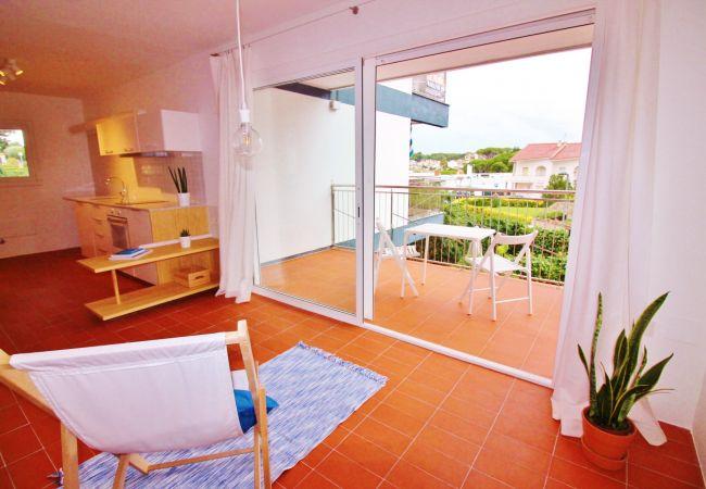 Apartamento en Palamós - M9 - Estudio nuevo playa de la Fosca (Palamós) - 2 a 3 pers. - Zona privilegiada junto al mar
